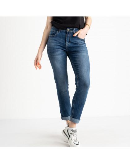 0546-8 A Relucky джинсы полубатальные женские синие стрейчевые (6 ед. размеры: 28.29.30.31.32.33) Relucky