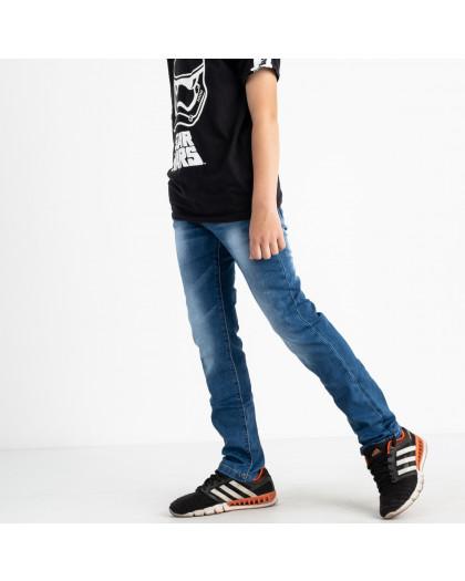 0091-2 Vingvgs джинсы юниор синие стрейчевые (6 ед. размеры: 30.31.32.33.34.35) Vingvgs