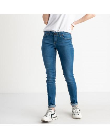 1944 Nescoly джинсы женские полубатальные голубые стрейчевые (8 ед. размеры: 27.28.29/2.30/2.32.34)  Nescoly