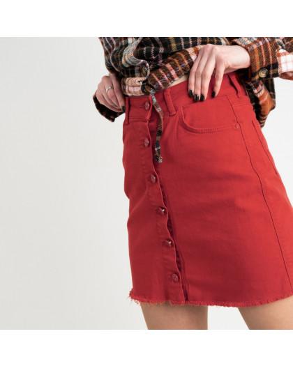 0402 Arox юбка джинсовая красная котоновая (4 ед. размеры: 34.36.38.40) Arox