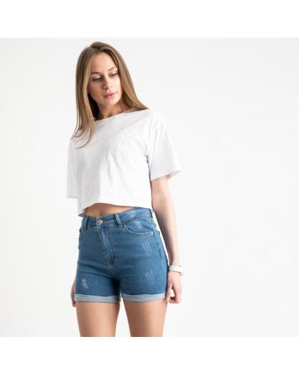 0700-282 Kind Lady шорты голубые котоновые (6 ед. размеры: 34.36.38.40.42.44) Kind Lady