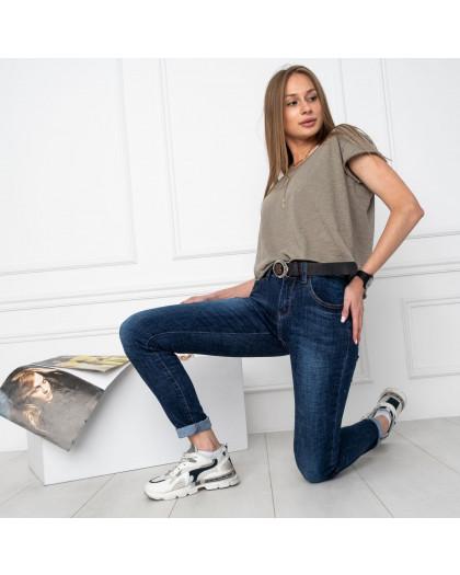 5013 OK&OK джинсы женские синие стрейчевые (6 ед. размеры: 25.26.27.28.29.30) OKOK