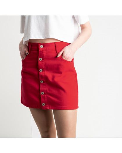 2952 Arox юбка на пуговицах красная котоновая (6 ед. размеры: 34.34.36.36.38.40) Arox