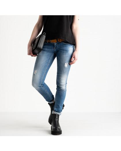 9365-581 Colibri джинсы женские голубые стрейчевые (6 ед. размеры: 25.26.27.28.29.30) Colibri