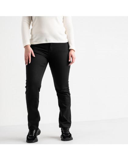 9761 Sunbird черные джинсы женские батальные стрейчевые (6 ед. размеры: 30.31.32.33.34.35) Sunbird