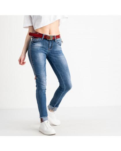 8182 Vanver джинсы женские голубые стрейчевые ( 6 ед. размеры: 25.26.27.28.29.30) Vanver