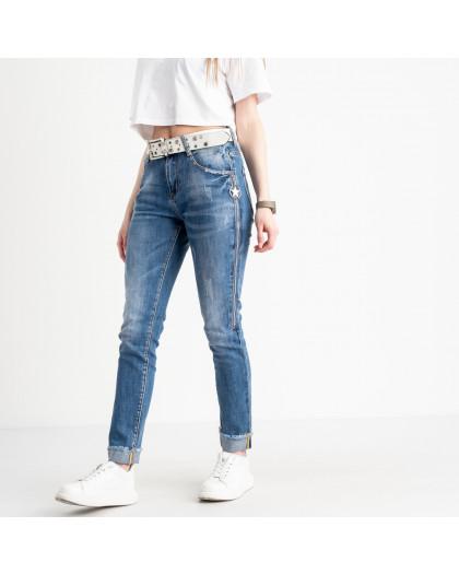 8197 Vanver джинсы женские голубые стрейчевые ( 6 ед. размеры: 25.26.27.28.29.30) Vanver