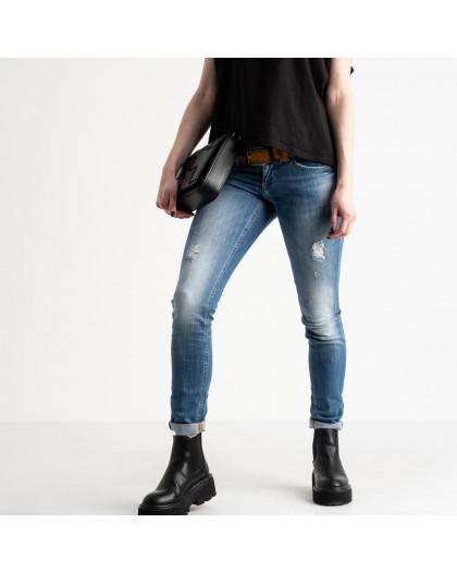 9365-581-01 Colibri джинсы женские голубые стрейчевые (7 ед. размеры: 25.25.26.27.28.29.30) Colibri