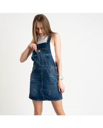 0332-1 Relucky сарафан женский синий котоновый (6 ед. размеры:25.26.27.28.29.30) Relucky