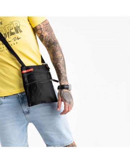 0067 черная наплечная сумка мужская (10 ед.) Сумка