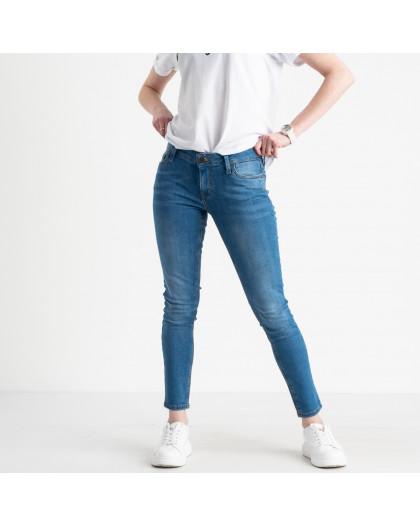 1941-10 Nescoly джинсы женские голубые стрейчевые (10 ед. размеры: 24/2.25/2.26/2.27/2.28/2) Nescoly