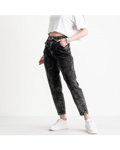 2117 MOM джинсы-балоны женские серые котоновые (8 ед. размеры: 25.26.26.28.28.30.30.32) MOM