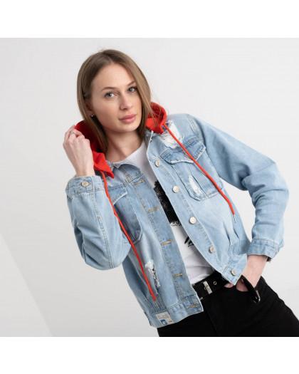 0652 New Jeans  куртка джинсовая женская  (6 ед. размеры: XS.S.M.L.XL.XXL) New Jeans