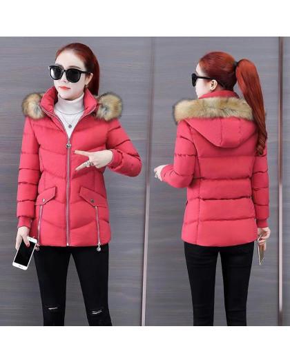 6936-3 куртка красная женская на синтепоне (6 ед. размеры: M.L.2XL/2.3XL.4XL) Куртка