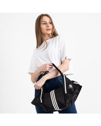 0006 черная спортивная сумка женская  (5 ед )  Сумка