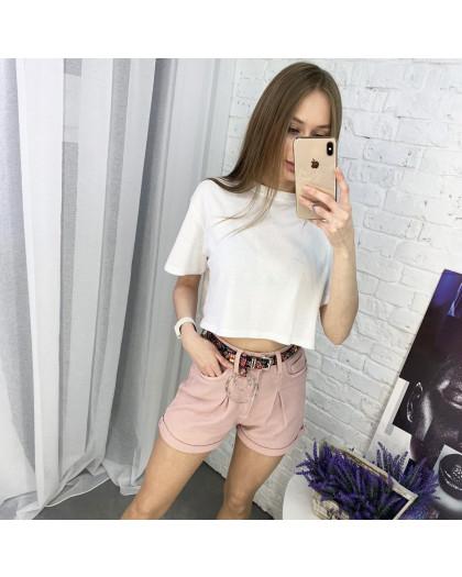 0443 Whats up 90s шорты розовые женские стрейчевые (5 ед. размеры: 26.27.28.29.30) Whats up 90s