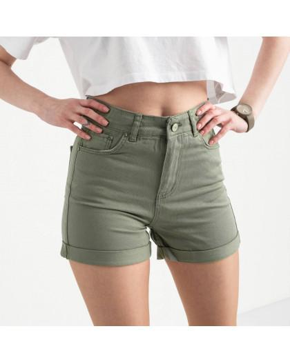 2107 MOM шорты женские хаки котоновые (6 ед. размеры: 25.26/2.28.30.32) MOM