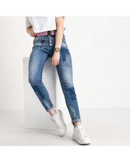 8201 Vanver джинсы женские голубые стрейчевые ( 6 ед. размеры: 25.26.27.28.29.30) Vanver
