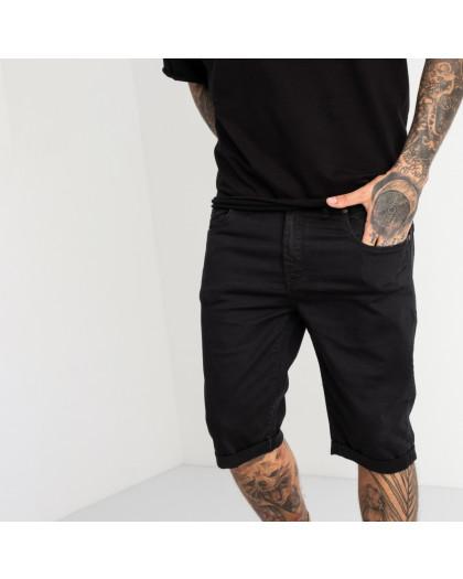 1962 Nescoly шорты джинсовые черные стрейчевые (8 ед. размеры: 30.32.34/2.36/2.38.40) Nescoly