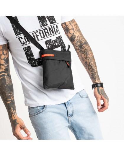 0068 черная наплечная сумка мужская (10 ед.) Сумка