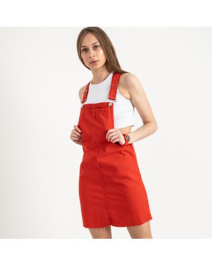 2908 Defile сарафан джинсовый красный котоновый (7 ед. размеры: 34/2.36/2.38/2.40) Defile