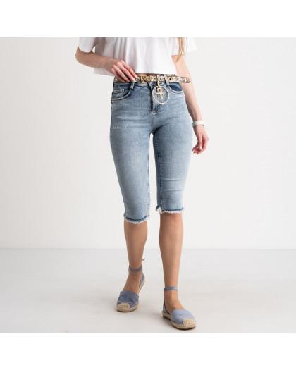 0639 Whats Up 90s шорты женские голубые стрейчевые (5 ед. размеры: 26.27.28.29.30) Whats up 90s