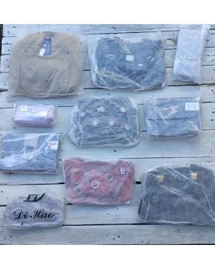 0258 лот женских сумок в фабричных упаковках (10 ед.) Сумка