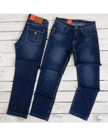 0921-3 R Relucky джинсы мужские полубатальные синие осенние стрейчевые (32-42, 8 ед.) Relucky