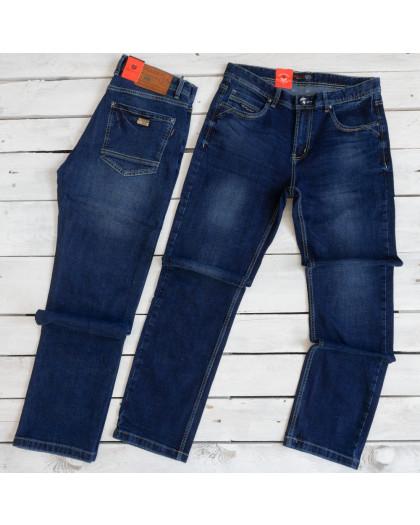 0918-3 R Relucky джинсы мужские полубатальные синие осенние стрейчевые (32-38, 8 ед.) Relucky