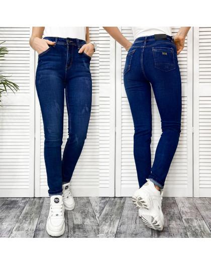 0501-2 A Relucky джинсы женские полубатальные синие осенние стрейчевые (28-33, 6 ед.) Relucky
