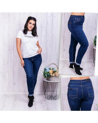 0522-3 А Relucky джинсы женские батальные синие демисезонные стрейчевые (32-42, 6 ед.) Relucky