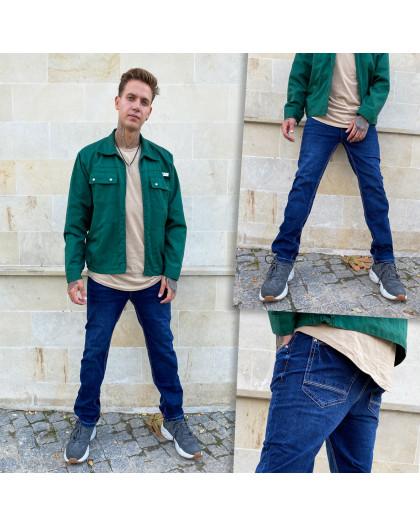 0501-5 Relucky джинсы мужские полубатальные синие стрейчевые (8 ед. размеры: 31.32.33.33.34.34.36.38.) Relucky