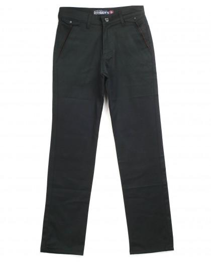 Чёрные молодёжные брюки 1427-1100 (27-31 молодёжка, 5 ед.) Дивидерс Dividers
