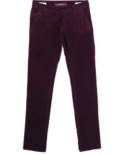 0014-0010 LS красные (27-34, молодёжка 8 ед.) брюки мужские весенние не тянутся LS