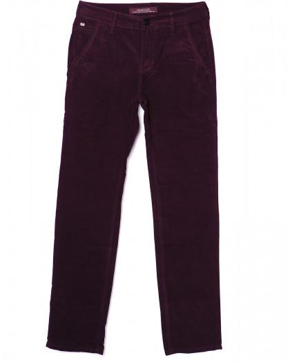 0014-0011 LS бордовые (27-34, молодёжка 8 ед.) брюки мужские весенние не тянутся LS