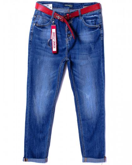 8095-2 Victory (28-33, полубатал 6 ед.) джинсы женские весенние стрейчевые Victory