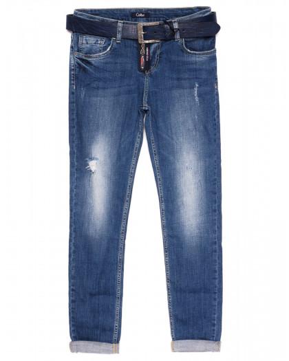 9319-В-566 Colibri (28-33, полубатал 6 ед.) джинсы женские весенние стрейчевые Colibri
