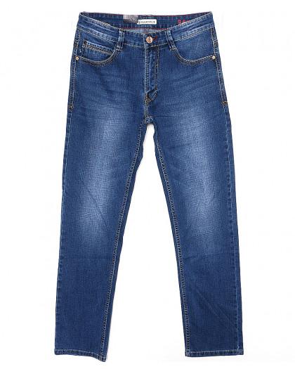 7337-03 Regass (32-38, полубатал, 7 ед.) джинсы мужские осенние стрейчевые  Regass