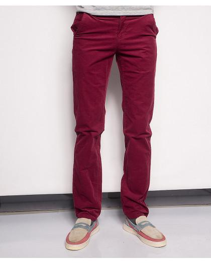 0014-0013 LS красные вельветовые молодежные брюки (27-34, 8 ед.) LS