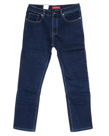 0754-8 (H-754-8) Vicucs джинсы мужские классические на флисе стрейчевые (30-38, 7 ед.) Vicucs