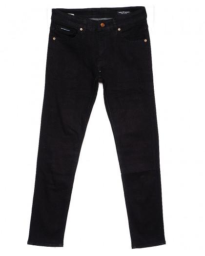 1039 Mark Walker джинсы мужские черные зауженные осенние стрейчевые (29-36, 8 ед.) Mark Walker