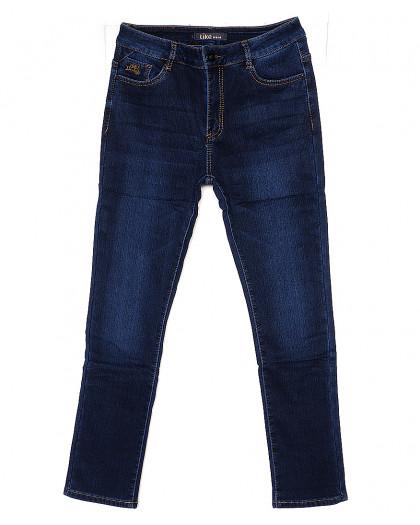 6086-2 Like джинсы женские батальные на флисе стрейчевые (28-33, 6 ед.) Like