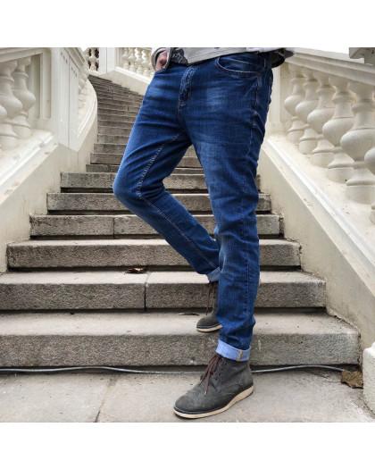 8078 Resalsa джинсы мужские зауженные весенние стрейчевые (29,30-2,31-2,32,34, 7 ед.) Resalsa