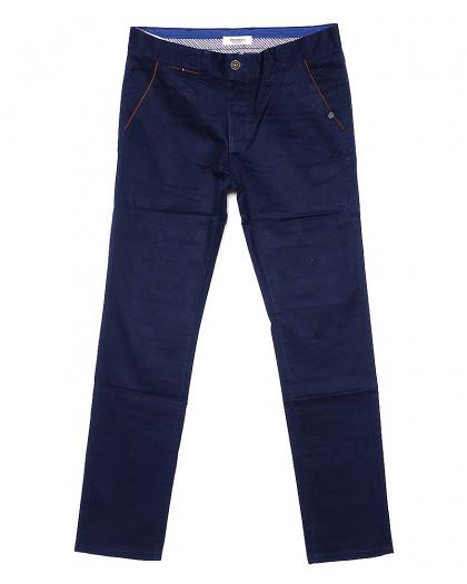 0672-1 Disvocas брюки мужские батальные синие весенние стрейчевые (32-36, 8 ед.) Disvocas