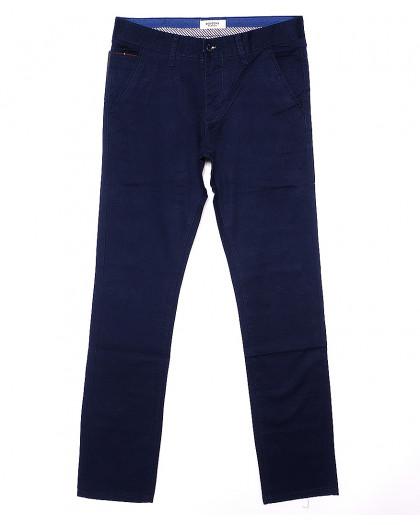 0668-1 Disvocas брюки мужские синие весенние стрейчевые (29-38, 8 ед.) Disvocas