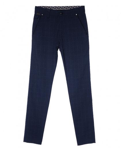 0063 A.L. sivash kutu Big Rodoc брюки мужские темно-синие весенние стрейч-котон (30-36, 7 ед.) Big Rodoc