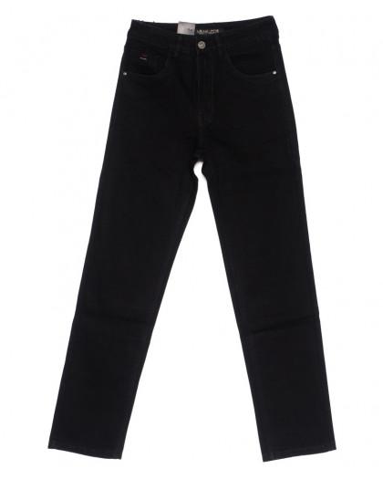 120227 LS джинсы мужские классические черные осенние стрейч-котон (29-38, 8 ед.) LS