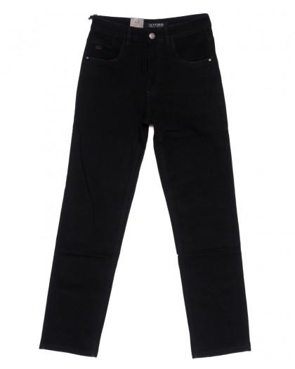 120229 Vitiso джинсы мужские батальные классические черные осенние стрейч-котон (32-38, 8 ед.) Vitiso