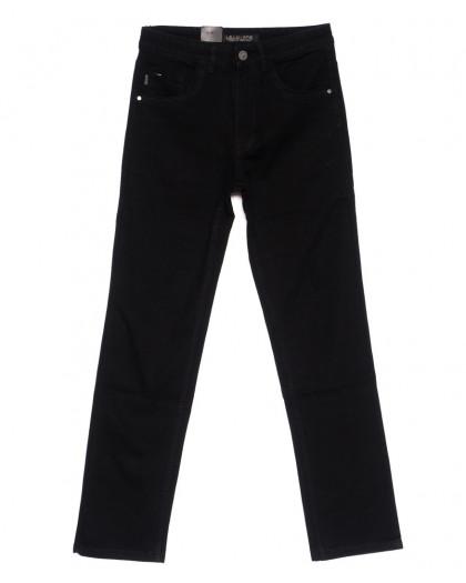 120231 LS джинсы мужские батальные классические черные осенние стрейч-котон (32-38, 8 ед.) LS