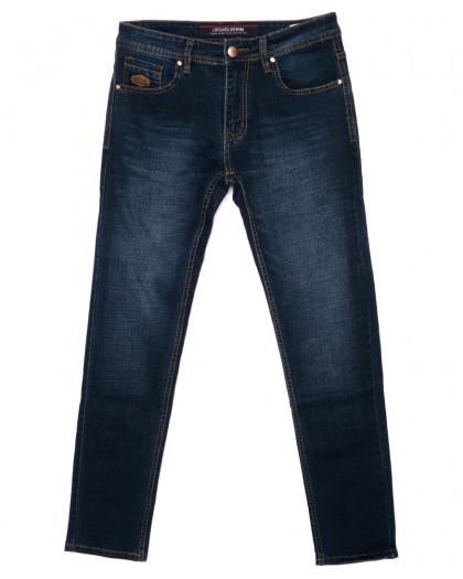0584-77 Likgass джинсы мужские синие осенние стрейчевые (30-38, 7 ед.) Likgass